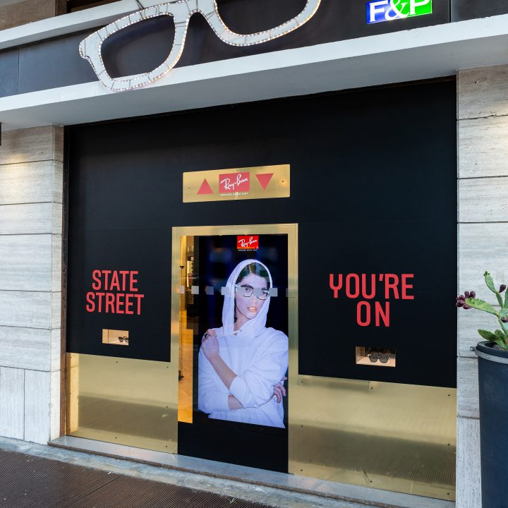Photo report Ray-Ban in Lecce