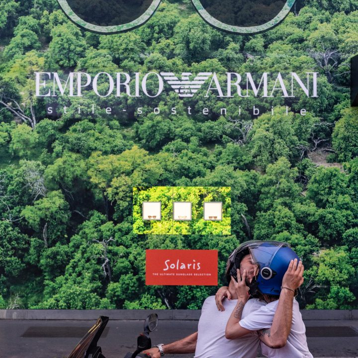 Photo report Emporio Armani in Milano
