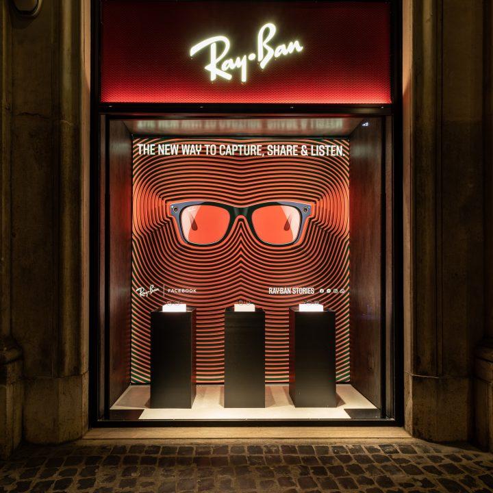 Photo report Ray-Ban Ray-Ban Store in Rome - Via del Corso