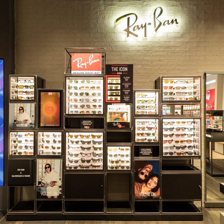 Photo report Ray-Ban S&V in Rome - Porte di Roma
